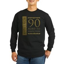 Fancy Vintage 90th Birthday T