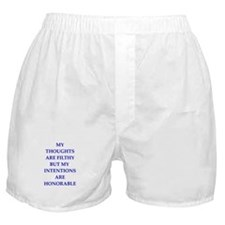 thoughts Boxer Shorts