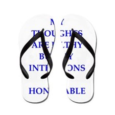 thoughts Flip Flops