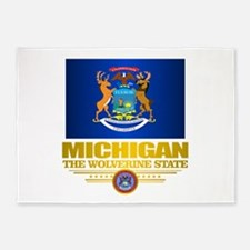 Michigan Pride 5'x7'Area Rug
