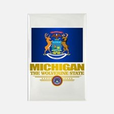 Michigan Pride Rectangle Magnet (10 pack)