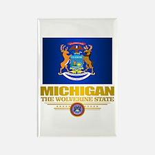 Michigan Pride Rectangle Magnet