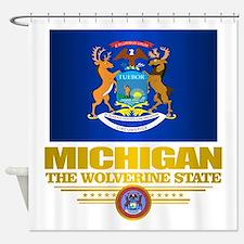 Michigan Pride Shower Curtain