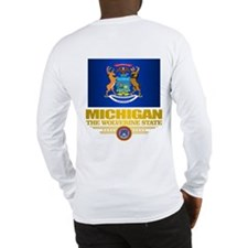 Michigan Pride Long Sleeve T-Shirt