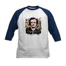 Edgar Allan Poe with Faded Roses Tee