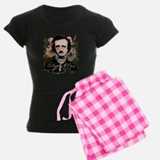 Edgar Allan Poe with Faded Roses Pajamas