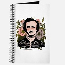 Edgar Allan Poe with Faded Roses Journal