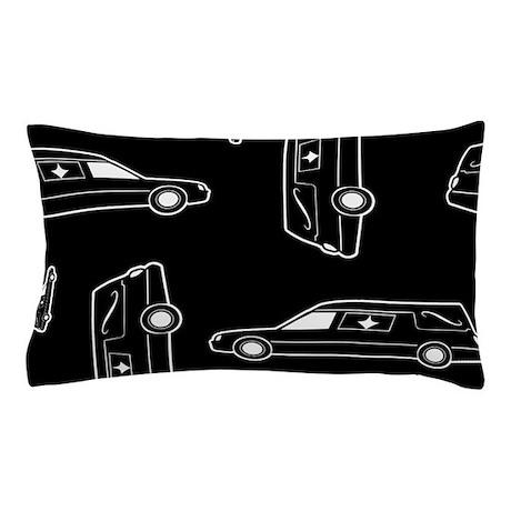 Hearse Pattern Pillow Case