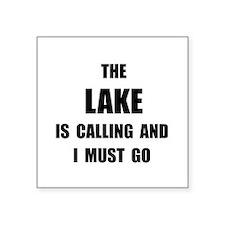 Lake Calling Sticker