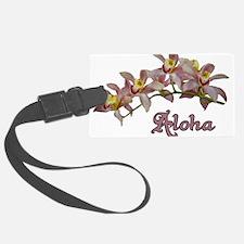 Aloha Flowers Luggage Tag