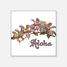 Aloha Flowers Sticker