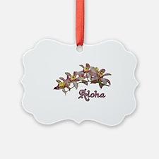 Aloha Flowers Ornament