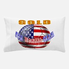 USA Womens Soccer Pillow Case