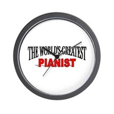 """""""The World's Greatest Pianist"""" Wall Clock"""