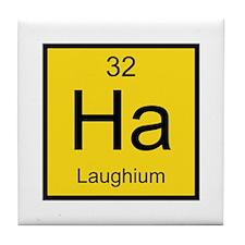 Ha Laughium Element Tile Coaster