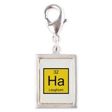 Ha Laughium Element Silver Portrait Charm