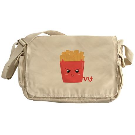 Badass but Kawaii French Fries Messenger Bag