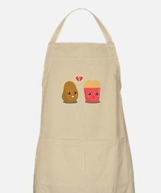 Potato is Heart Broken with French Fries Apron