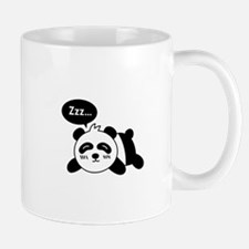 Cartoon of Cute Sleeping Panda Mug