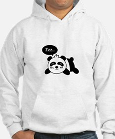 Cartoon of Cute Sleeping Panda Hoodie