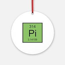 Pi Element Ornament (Round)
