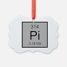 Pi Element Ornament