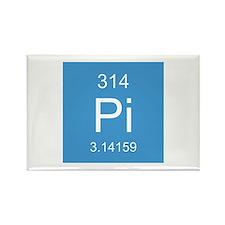 Pi Element Rectangle Magnet