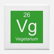 Vg Vegetarium Element Tile Coaster