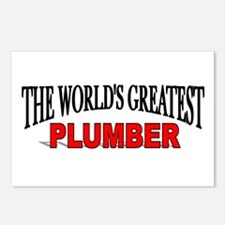 """""""The World's Greatest Plumber"""" Postcards (Package"""