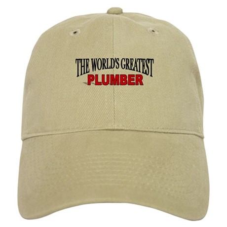"""The World's Greatest Plumber"" Cap"