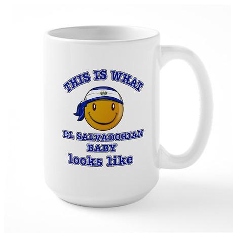 El Saldorian baby designs Large Mug