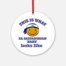El Saldorian baby designs Ornament (Round)