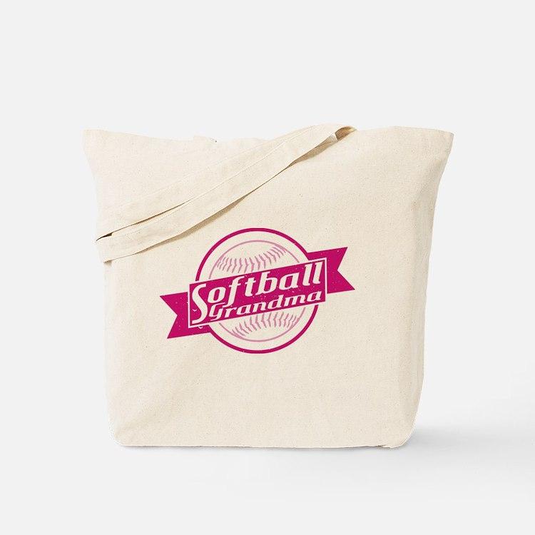 Softball Grandma Tote Bag