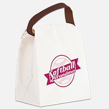 Softball Grandma Canvas Lunch Bag