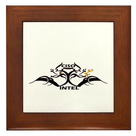 CISO Intel LOGO Framed Tile