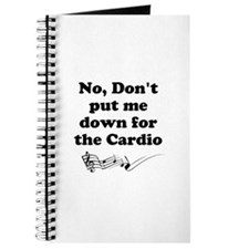 Don't Put Me Down for the Cardio v2 Journal