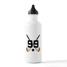 Field Hockey Number 99 Water Bottle