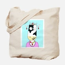 Prom Queen Cow Tote Bag