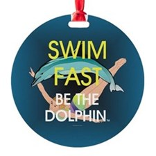 TOP Swim Slogan Ornament