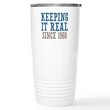 Keeping It Real Since 1966 Ceramic Travel Mug