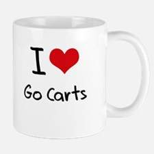 I Love Go Carts Mug
