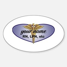 Personalized Nurse Decal
