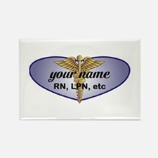 Personalized Nurse Rectangle Magnet (100 pack)