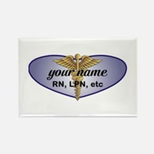 Personalized Nurse Rectangle Magnet
