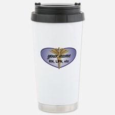 Personalized Nurse Travel Mug