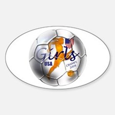 US Soccer Champs 2008 Decal