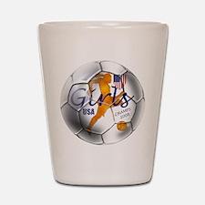US Soccer Champs 2008 Shot Glass