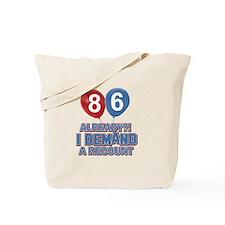 86 year old ballon designs Tote Bag