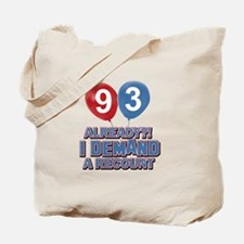 93 year old ballon designs Tote Bag