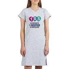 105 year old ballon designs Women's Nightshirt